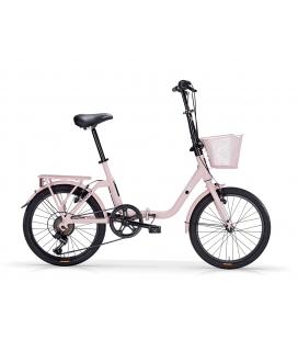 """Vélo pliant KANGAROO 20"""" 6 vit. Rose 2019"""