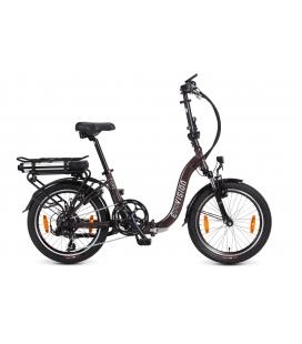 """Vélo pliant à assistance électrique E-Vision Pure 20"""" coffee 2019"""