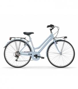 """Vélo de ville TOURING 28"""" 6 vit. Dame bleu 2019"""