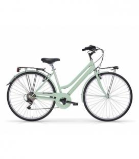 """Vélo de ville TOURING 28"""" 6 vit. Dame vert 2019"""