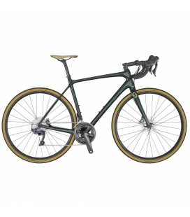 Vélo de route Scott Addict 10 disc green 2020
