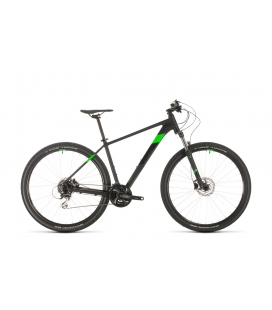 VTT Cube Aim Race black´n´flashgreen 29 2020