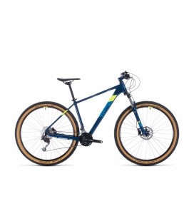VTT Cube Aim SL blueberry´n´flashyellow 29 2020