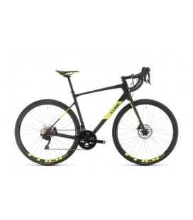 Vélo de route Cube Attain GTC Race carbon´n´flashyellow 2020