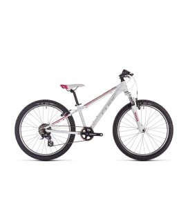 VTT Enfant Cube Access 240 white´n´red´n´coral 2020