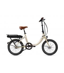 """Vélo pliant à assistance électrique O2Feel PEPS N7 Blanc Lin 20"""" Univ - P400 2020"""