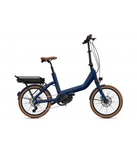 """Vélo pliant à assistance électrique O2Feel SWAN FOLD N8 Bleu Abysse 20"""" Univ - P600 2020"""