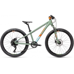VTT Enfant Cube Acid 240 Disc green'n'orange 2021
