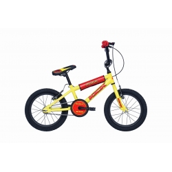 """BMX junior KICK 16"""" jaune 2021"""