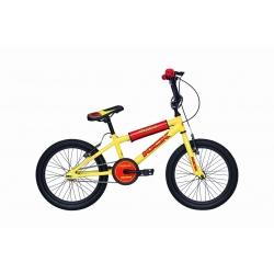 """BMX junior KICK 18"""" jaune 2021"""