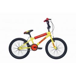 """BMX junior KICK 20"""" jaune 2021"""
