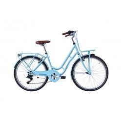 "Vélo enfant RETRO 26"" bleu 2021"