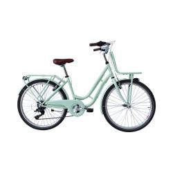 "Vélo enfant RETRO 26"" vert 2021"