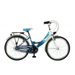 """Vélo enfant DIVA 26"""" Nexus 3 bleu/blanc 2021"""