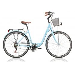 """Vélo de ville CENTRAL PARK 28"""" 6 vit. dame bleu 2021"""