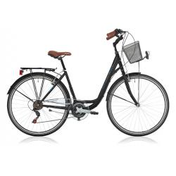 """Vélo de ville CENTRAL PARK 28"""" 18 vit. dame noir 2021"""
