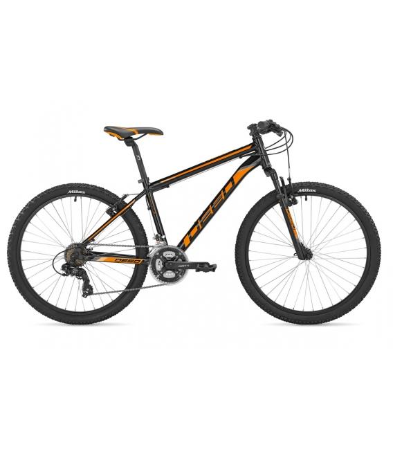 "VTT HOOP 26"" homme noir/orange 2021"
