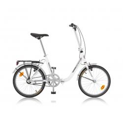 "Vélo pliant AMIENS 20"" blanc 2021"