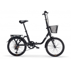 "Vélo pliant KANGAROO 20"" 6 vit. noir 2021"