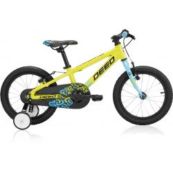 VTT garçon DEED ROOKIE 160 jaune/bleu 2020