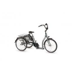 """Tricycle électrique Pfiff TORINO 24"""" gris 2020"""