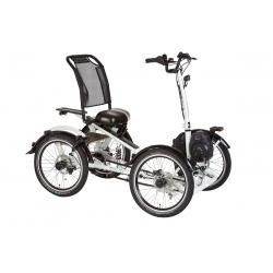 """Tricycle électrique Pfiff TIBO 4 20"""" blanc 2020"""