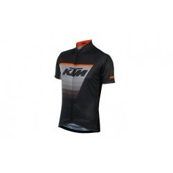 Maillot à manches courtes KTM Factory Line noir/gris/orange 2021