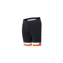 Short KTM FACTORY LINE noir/blanc/orange 2020