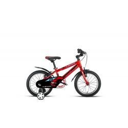 """Vélo enfant LEON 14"""" rouge/bleu 2021"""