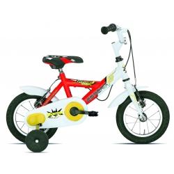 """Vélo enfant MASCOTTE 12"""" rouge 2021"""