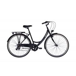 """Vélo de ville BALMORAL 28"""" 18 vit. dame noir 2021"""
