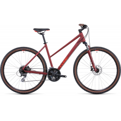 Vélo fitness Cube Nature darkred'n'red Trapeze 2022