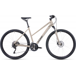 Vélo fitness Cube Nature Pro desert'n'black Trapeze 2022