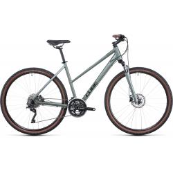 Vélo fitness Cube Nature Pro silvergreen'n'black Trapeze 2022