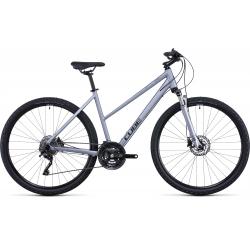 Vélo fitness Cube Nature EXC polarsilver'n'black Trapeze 2022