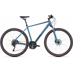 Vélo fitness Cube Nature EXC blue'n'blue 2022