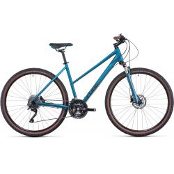 Vélo fitness Cube Nature EXC blue'n'blue Trapeze 2022