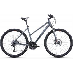 Vélo fitness Cube Nature SL flashgrey'n'orange Trapeze 2022