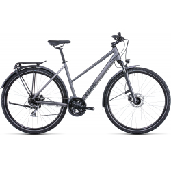 Vélo fitness Cube Nature Allroad graphite'n'black Trapeze 2022