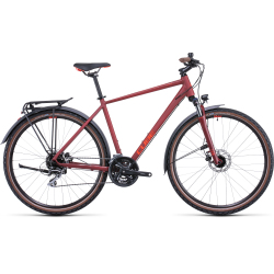 Vélo fitness Cube Nature Allroad darkred'n'red 2022