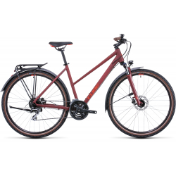 Vélo fitness Cube Nature Allroad darkred'n'red Trapeze 2022