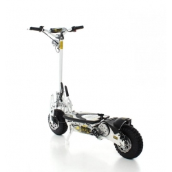 SXT 1000 Turbo - Trottinette Electrique Blanc | Plomb 36V 12Ah