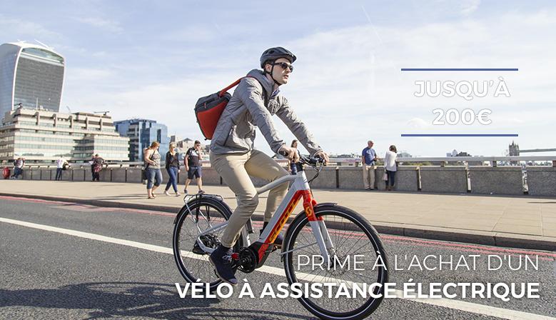 Prime à l'achat d'un vélo à assistance électrique