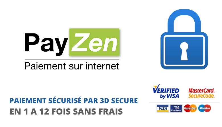 Paiement sécurisé Payzen et Paypal