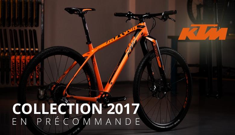 Collection KTM 2017 en précommande