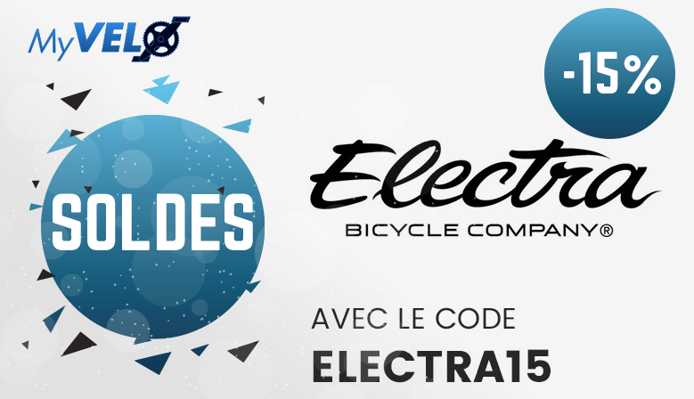 15% de remise sur la marque Electra Bikes