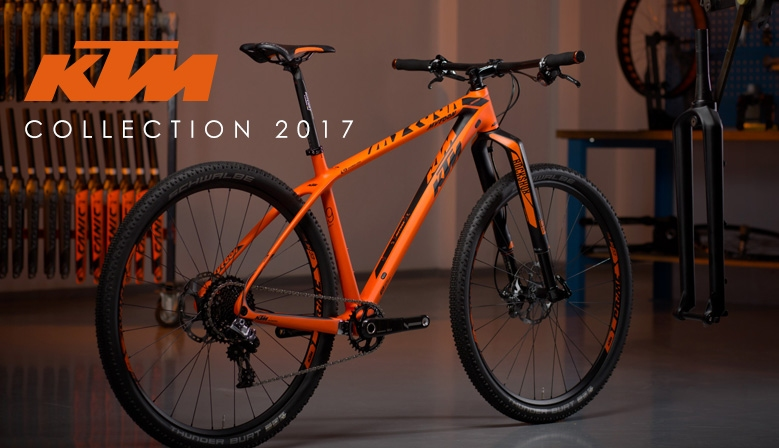 Collection KTM 2017 en précommande