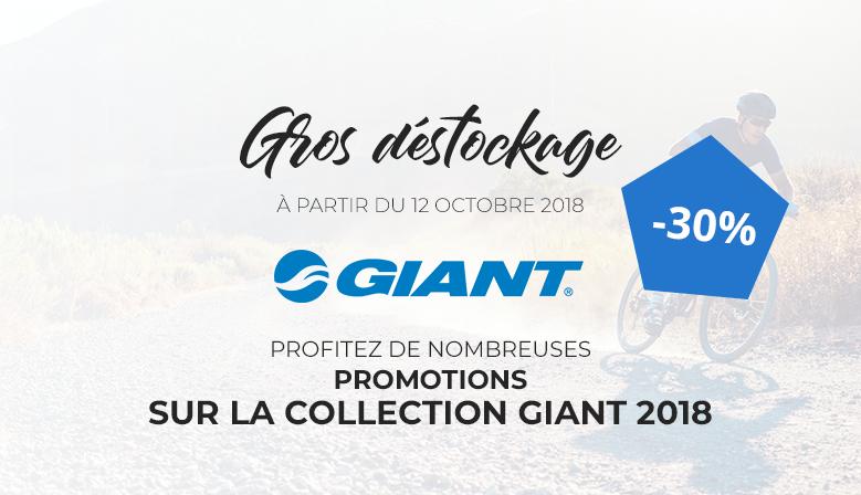 Déstockage Giant 2018