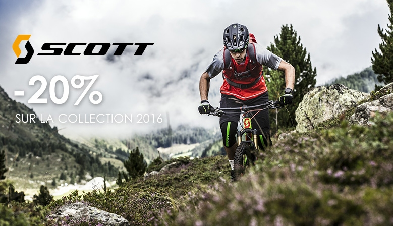 -20% de remise sur la collection Scott 2016