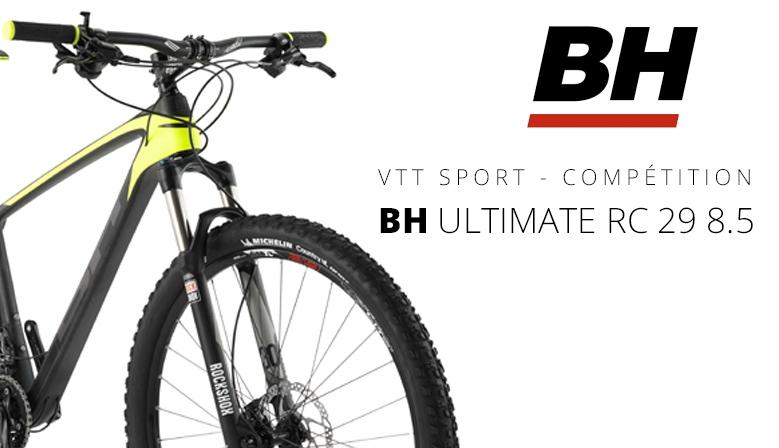VTT BH ULTIMATE RC 29 8.5 noir-jaune 2016